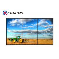 Quality Retail Digital Signage Advertising Video Wall 1 X 3 Bezel 5.3MM , High Brightness for sale