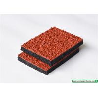Quality UV - Resistant Breathable Rubber Athletic Track / Synthetic Track For Running for sale