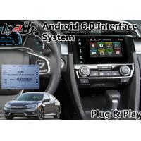 Quality Android Multimedia Auto Interface Navigation for Honda New Civic support Google Map for sale