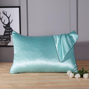 Quality Silk Pillowcase Mulberry Pillow Case without Zipper for Hair and Skin Hypoallergenic poszewki na poduszki 48x74cm for sale