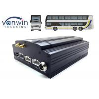 Buy cheap Vehicle MDVR D1 H.264 HDD 8 Channel Mobile DVR 3G WIFI Car DVR Recorder 4G GPS product