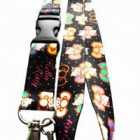 Quality Heat-transfer Lanyard, Customized Colors and Logos are Accepted for sale