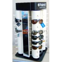 Quality Custom Point Of Purchase Merchandising Spinner Eyewear Display Rack Countertop for sale