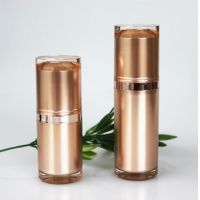 Quality Custom OEM PP Airless Pump Bottle For Cosmetic Packaging for sale