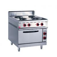China Stainless Steel Kitchen Commercial Baking Ovens , Industrial Bakery Ovens With Cabinet on sale