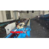 Quality Customize Insulated PU Roller Shutter Door Roll Forming Machine With Chain Transmission for sale