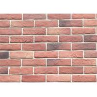Quality 3DWN05 Decorative Interior Thin Brick Panels / Wall  Building Materials With Turned Color 210*55 for sale