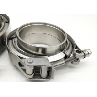 Quality High Performance 2.5 Inch V Band Exhaust Clamp With Male And Female Flanges for sale