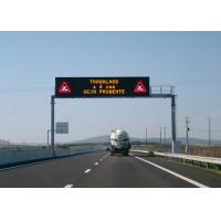 Quality Clear Vivid Image  LED Highway Road Signs Spin Lock Easy To Install Pixel Pitch 20mm for sale