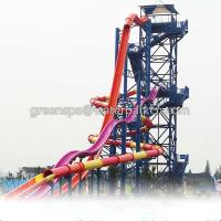 Quality Indoor Single Water Park Equipment / Water Games With Big Water Slides Safety for sale