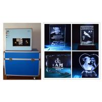 Buy Professional 3D Glass Crystal Laser Engraving Machine , Made in China at wholesale prices