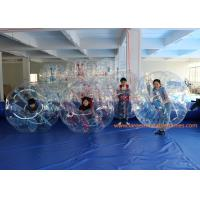 Quality ASTM  1.5m Inflatable Bumper Ball Battle Football With Red Ropes for sale