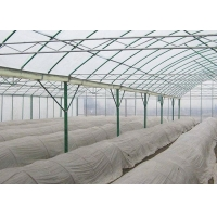 Quality Irrigated Clear Cooling Poly Plastic Film Greenhouse for sale