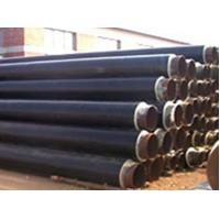 Buy cheap API 5L API 5CT Black Jacket HDPE Insulated Steel ERW / SSAW Pipe For Sewage Discharge Pipe product