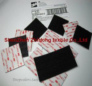 Quality Customized 3M Die-cutting Velcro self-glue mushroom head hook for sale