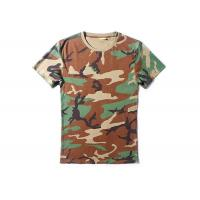 Quality Woodalnd Cool Tactical T Shirts Elastic 100% Cotton For Outdoor Sports for sale
