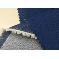 Quality 98%C 2%SP Lightweight Denim Fabric / Custom Denim Spandex Fabric 12.4OZ for sale