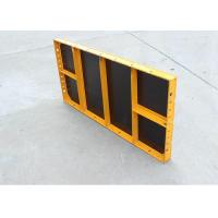 China High Strength Steel Formwork System , Light Panel Steel Formwork For Concrete on sale