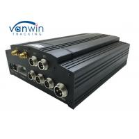 Buy cheap 720p G-Sensor GPS GSM 3G WIFI 4G HDD Mobile DVR 4ch MDVR With Camera Monitor CMS product