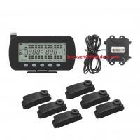 China RS232 integrate GPS communicate TPMS  tire pressure temperature real-time monitoring system 144 Wheels Sensors on sale