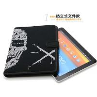Quality Mens Magnetic Neoprene Tablet Sleeve 10 inch , iPad Protection Cover Stand Style for sale