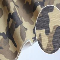 China Forest camouflage canvas fabric t/c 65/35 21*21 108*58 57/58 on sale