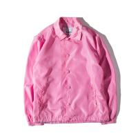 Quality China factory custom wholesale mens blank nylon coaches jacket for sale