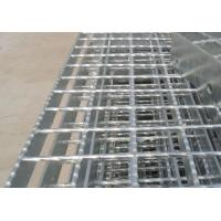 Quality Galvanized Serrated Flat bar Serrated Steel Grating for platform for sale