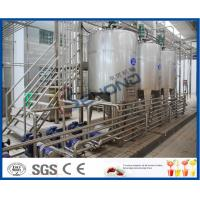 China SUS304 Stainless Steel Automatic Dairy Processing Plant Milk Processing Equipment High Efficiency on sale