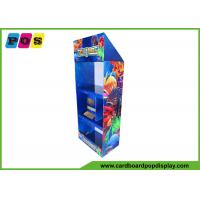 Point Of Sale Toy Display Stand Free Standing FSDU With Three Shelves FL072