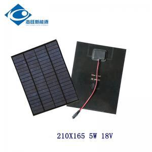 China 18V 5W PET flexible solar panel for solar power toy car ZW-5W-18-P Silicon Solar PV Module on sale