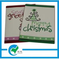 China Holiday Greeting / OEM Blessing Greeting Card Stock Paper Services for Wedding Invitation on sale