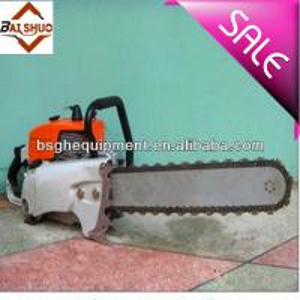 Quality BS-50G concrete cutting chain saw BSGH gasoline diamond chain saw for sale