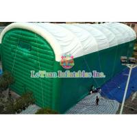 Buy cheap Fireproof Inflatable Camping Tent , Air Sealed Event Inflatable Lawn Tent product