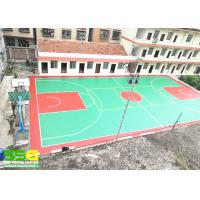 Quality All Weather Polyurethaning Floors Anti - Slip Floor Paint Gym Sports Flooring for sale