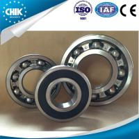 High speed running deep groove ball bearing type used for motorcycle and bicycle