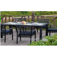 Buy cheap Rattan Wicker Outdoor Patio Furniture Table And Chairs For Balcony / Lawn product