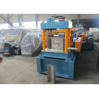 China Auto PLC Control Z Purlin Roll Forming Machine with Engineer Oversea Service on sale