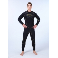 Quality Siamese Suede Inner Male 5mm Diving Wetsuit for sale