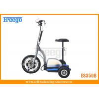 Buy cheap Zappy 500W Motor Three Wheel Electric Scooters For Air Port , Stadiums product