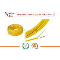 Buy cheap 200 Degrees Teflon Insulated Thermocouple Cable Type K 2*0.2mm 500m Roll product