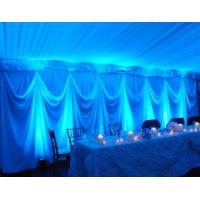 Quality Stage wedding event backdrop poles wedding decorate Pipe And Drape Wedding Backdrop curtains for sale