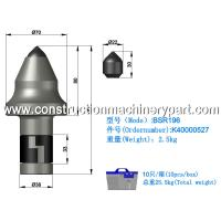 Buy cheap Friction Resistance Coal Cutter Picks Mining Coal Cut Tooth BSR196 product