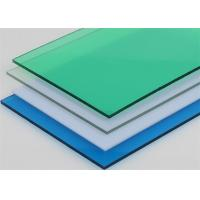 Quality Colored Pc Solid Uv Blocking Polycarbonate Sheet With Good Weatherability for sale