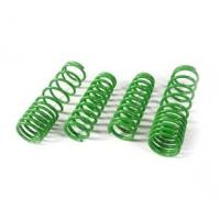 Quality Green Alloy Steel Car Suspension Springs , Auto Suspension Coil Springs for sale