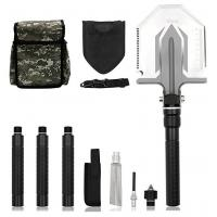 Buy Foldable Military Tactical Shovel , Military Surplus Folding Shovel Outdoor Emergency Tool Kit at wholesale prices