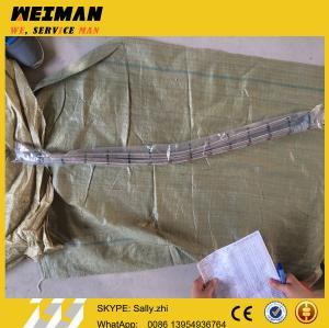 Quality SDLG orginal flexible metal tube 4120002043, sdlg loader parts for wheel loader LG956L for sale