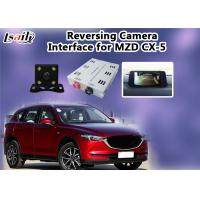 Quality Mazda Multimedia Reverse Camera Interface With Rear System , 800*480 Resolution for sale