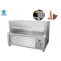 Quality Small Scale Lip Balm Industrial Cooling Systems With Cover , Chilling Table SUS304 for sale