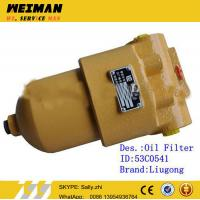 Quality original Hydraulic Oil Filter, 53C0541, liugong wheel loader spare parts  for liugong wheel loader for sale